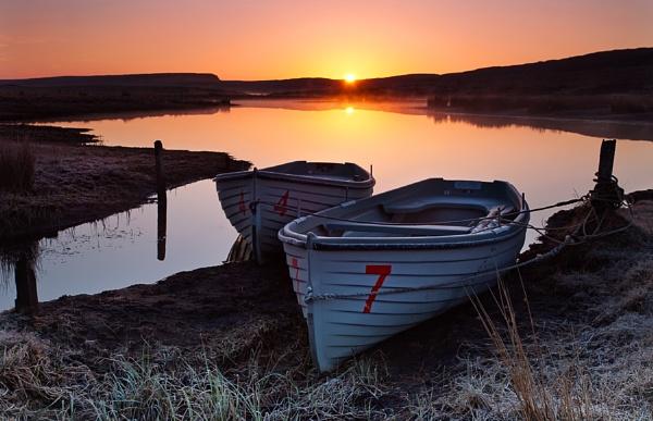 Dawn boats by treblecel