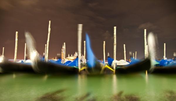 Five Gondolas by jonah794