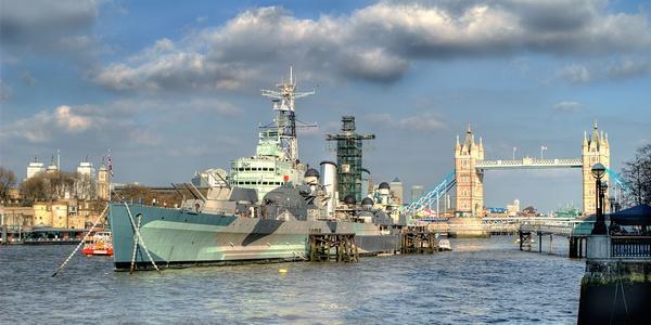 HMS Belfast by PHolder