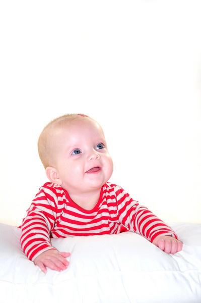 baby portrait hi key by wisp