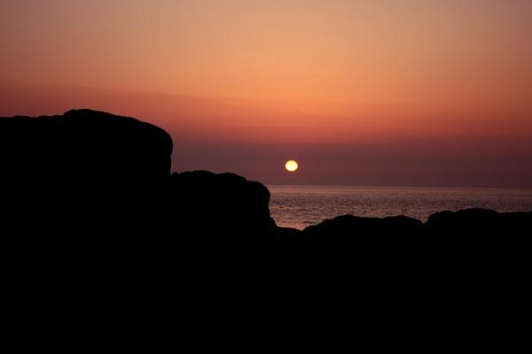 Volcanic Ash Sunset by Berni