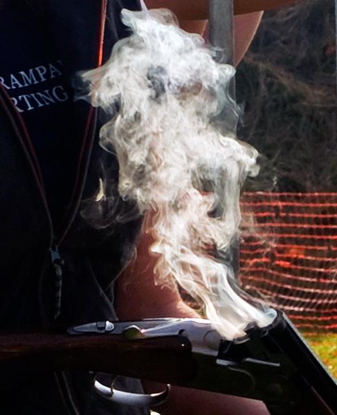 Gun Smoke by bppowell