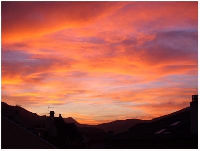 Evening Sky by AnnieK