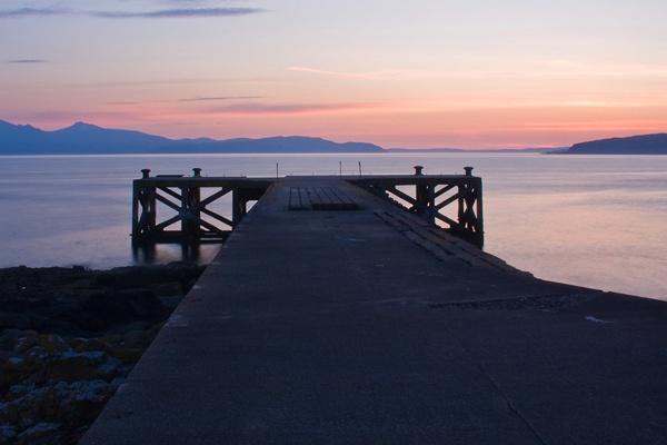 The Pier at Portencross by iainglennie