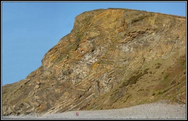 Millook Cliffs North Cornwall by warbstowcross