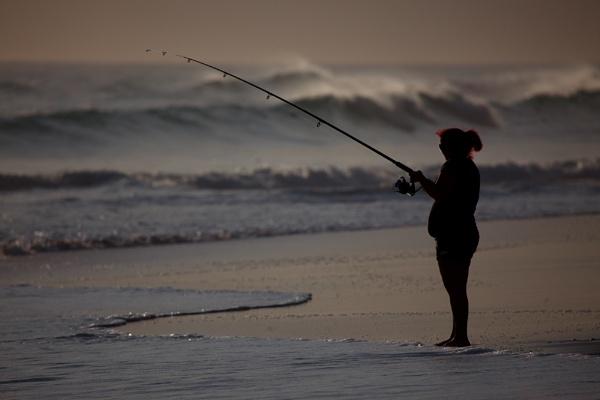Just Fishing by Davesumner