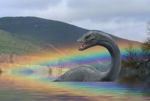 Rainbow Over Nessie by lifesnapper