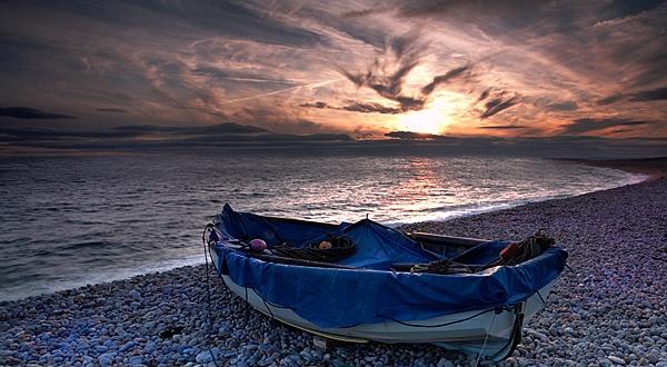 Chesil Boat by Kris_Dutson