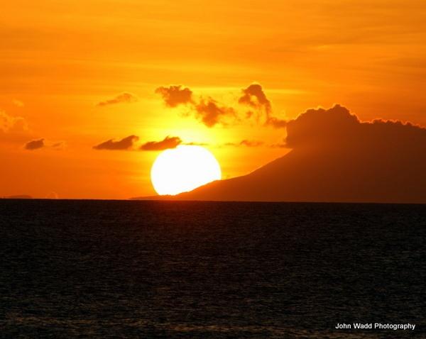 Sun Set In Antigua by johnlwadd