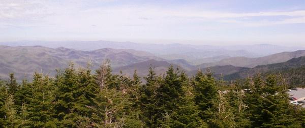 View from Mount Mitchell, North Carolina by navigatornick