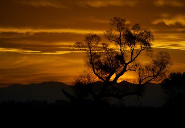 Sunset Lake Tekapo NZ by Bondgirl