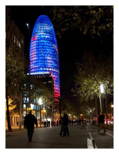 Barcelona\'s Gherkin by GarrathE