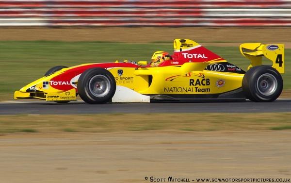 Benjamin Bailly - FIA FORMULA 2 by motorsportpictures