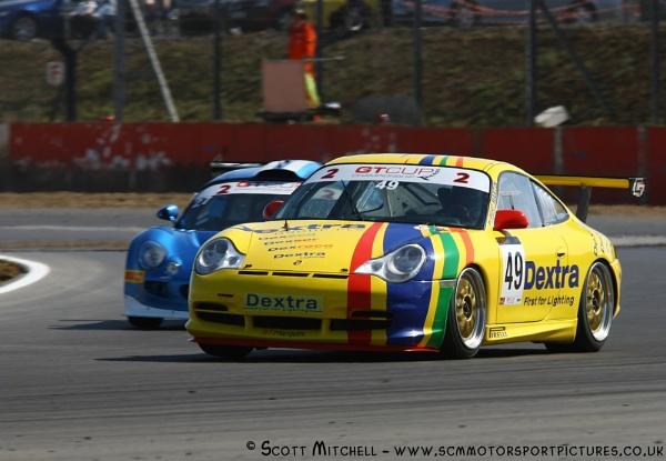 Porsche 996 cup by motorsportpictures