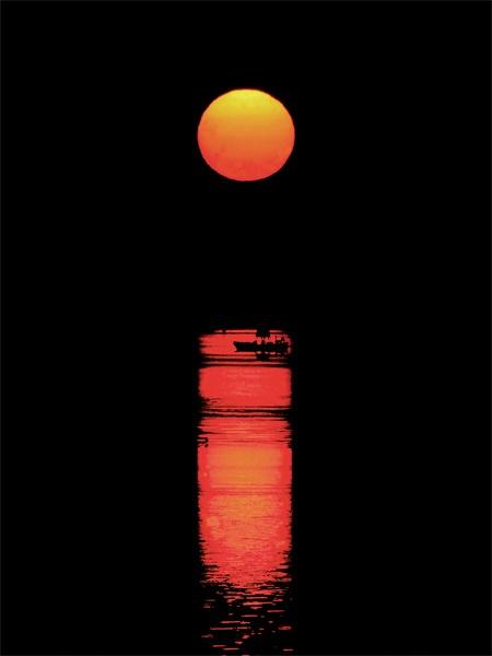 Sunset on the Humber by camramadbob