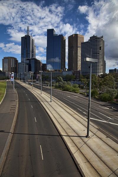 Melbourne CBD by Phil32