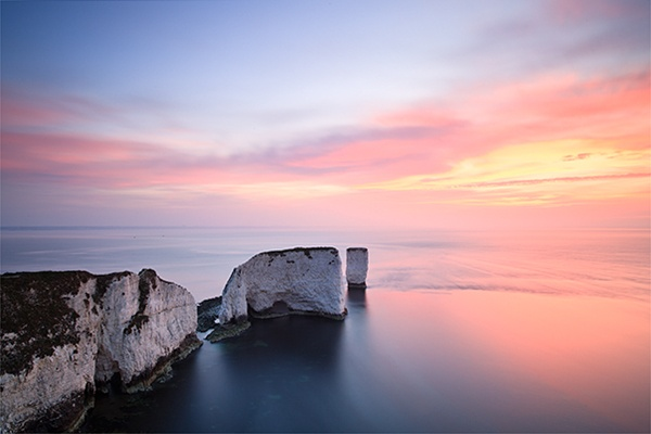 Old Harry Rocks by MarkBauer