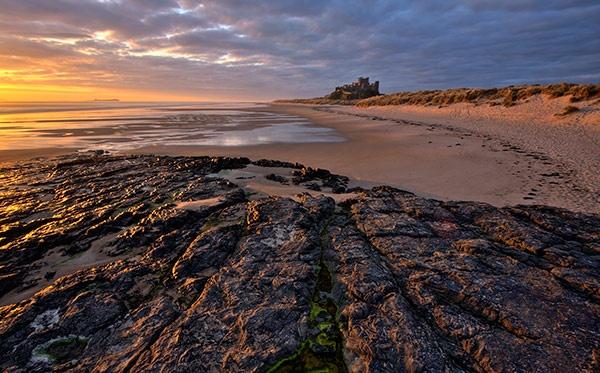 Bamburgh Sunrise. by davey