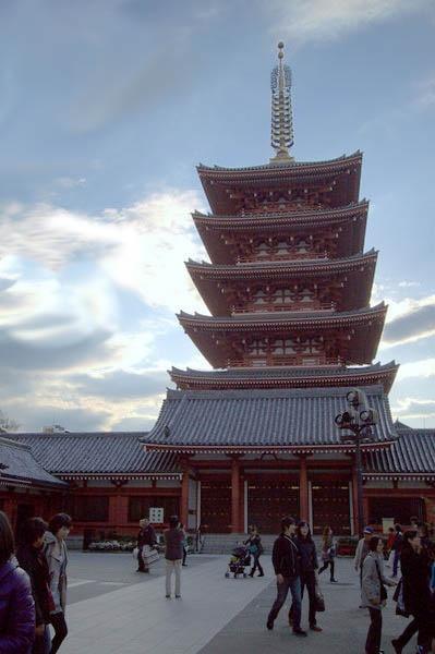 pagoda by eating