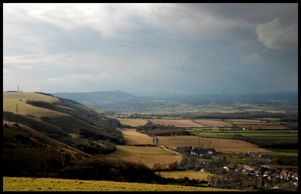 North Downs by glassmaker