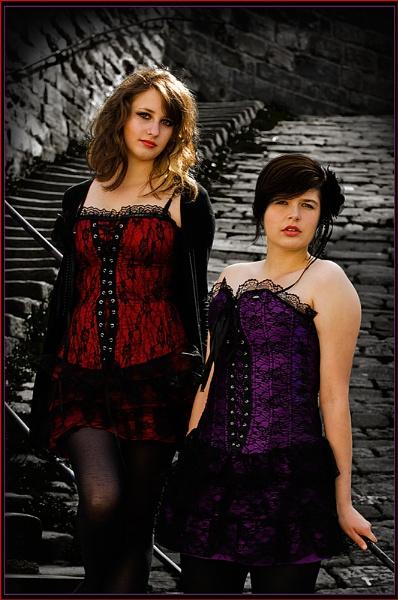 Nicole & Chloe. by IMAGESTAR