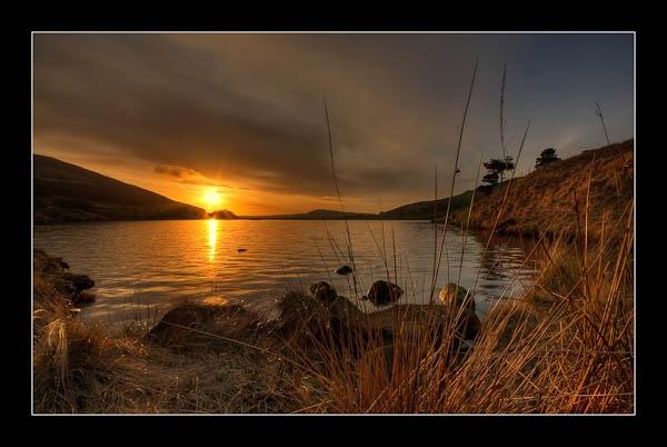 Sunset over Dovestones by jeni
