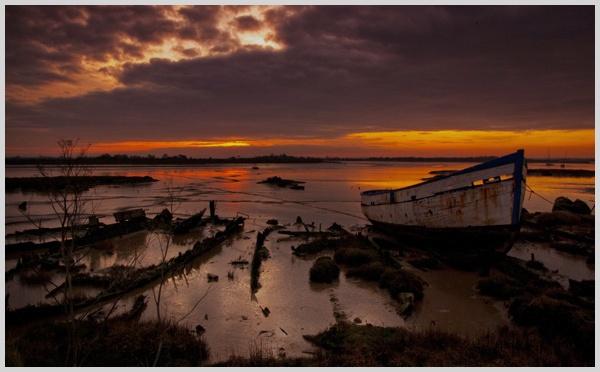 Maldon sunset by malleader