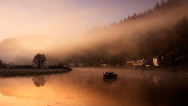 Tintern Sunrise by Morgs