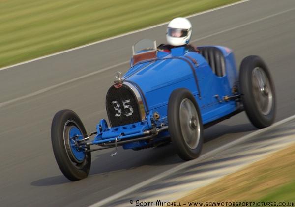 Bugatti  T35B - Nick Mason by motorsportpictures