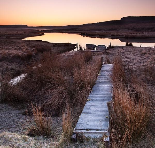 Loch leathan dawn by treblecel