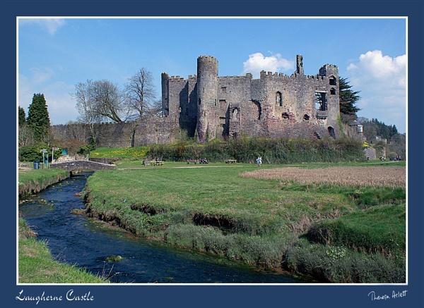 Laugherne Castle by AshTree