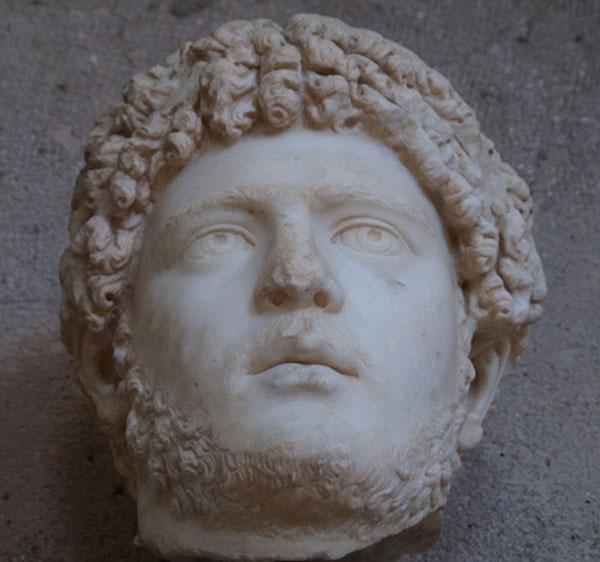 Head of Caracalla by Gilbrae