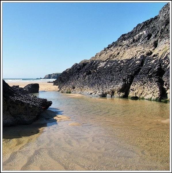 Bedruthan at Low Tide III by rpba18205