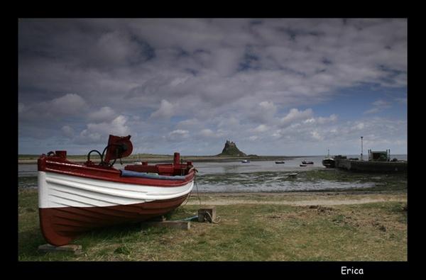 Lindisfarne Boat by Ewark