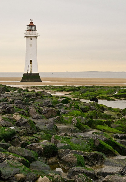 NEW BRIGHTON LIGHTHOUSE by mikeaspinall