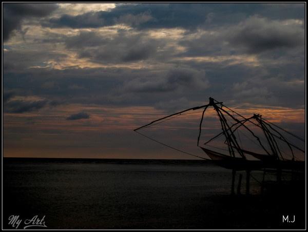 Chinese fishing nets by Matt_MJ