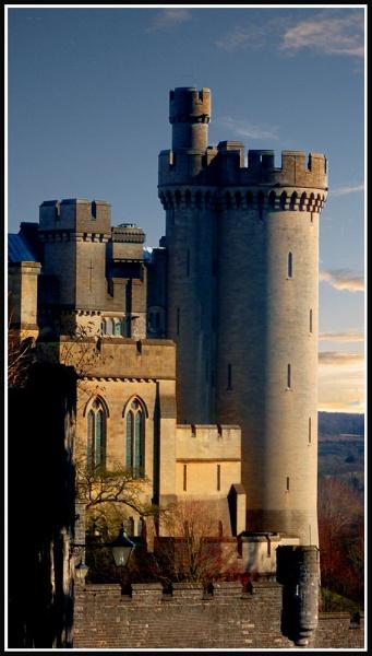 Arundel Castle by glassmaker