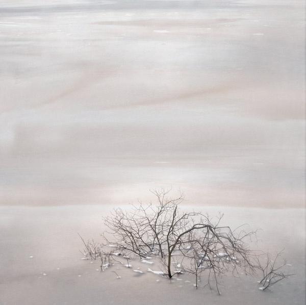 in frozen water by StevenLePrevost