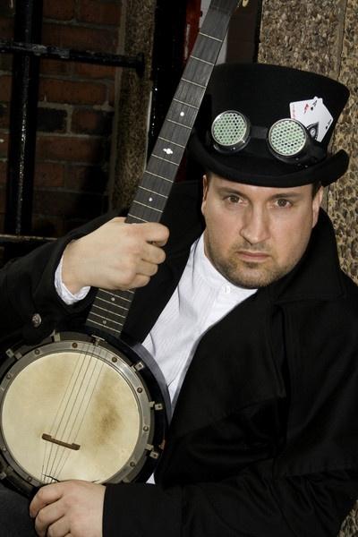 The Banjo Man by gillblower