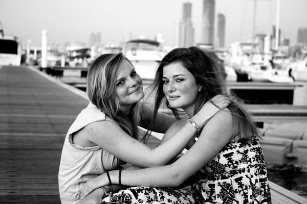 Sisters by webdady