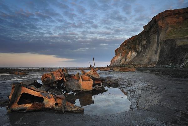 Saltwick Wreck 2 by iansnowdon