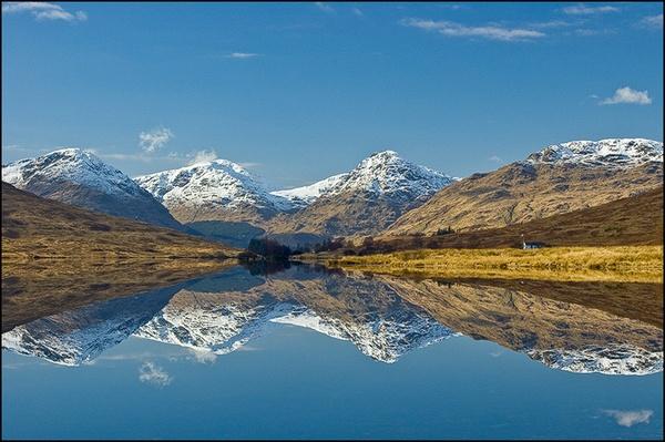 The Arrochar Alps by Strax