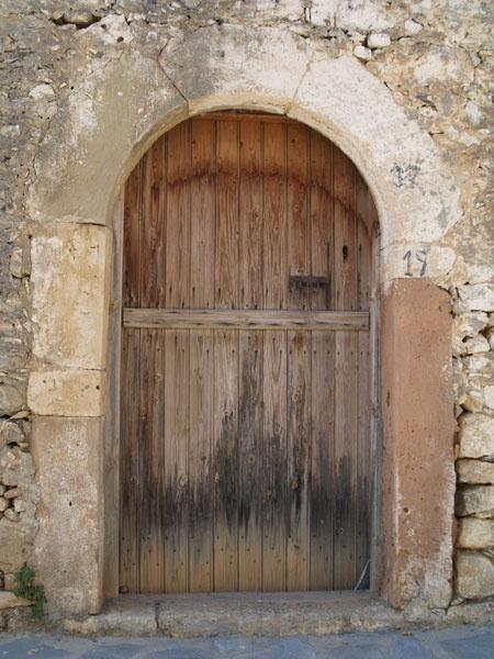 Doorway in Crete by Gilbrae