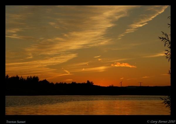 Treeton Sunset by wag_sfd