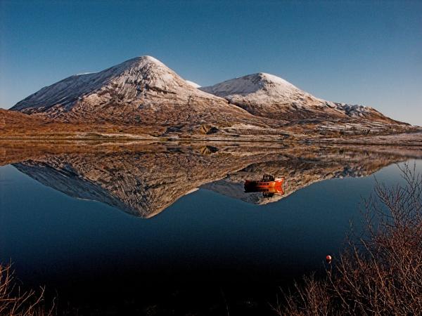 Reflections in Loch Slapin by Sasanach
