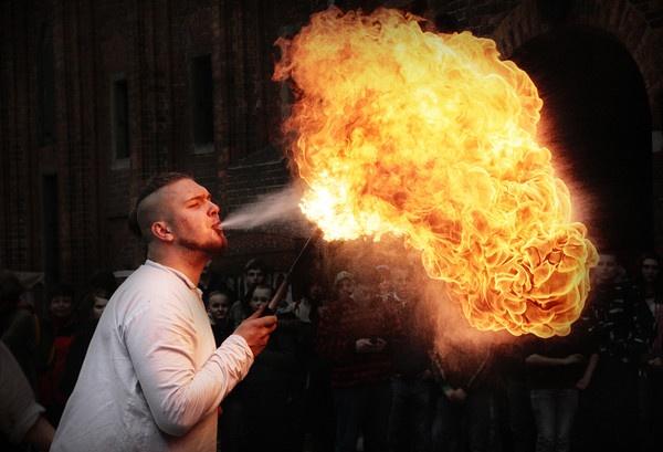 Fire Breathing by Aenkill