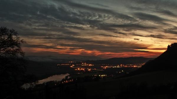 Kinoul Hill Sunset by stuinperth