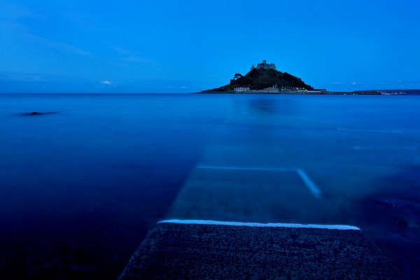Mount at dawn by penzance