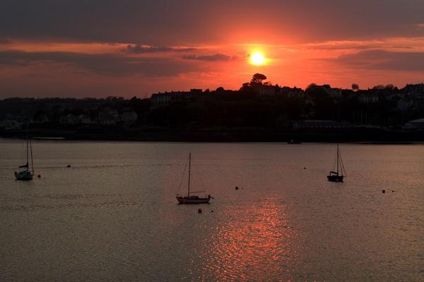 Pembroke sunset by royd63uk
