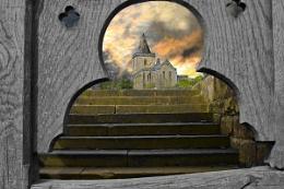 Through the Church Gate
